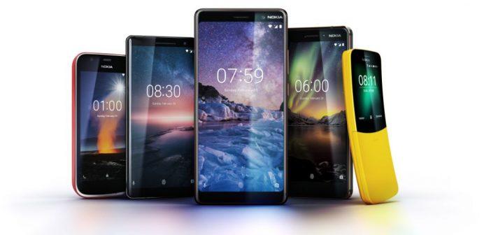 Predstavljeno pet novih Nokia telefona